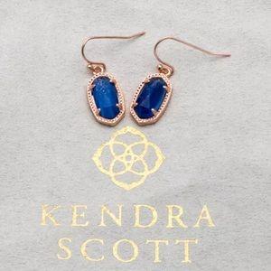 Kendra Scott lee 14k rose gold dusted earring NWT